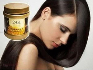 Masker Rambut 24K (Active Gold Hair Repair Hot Oil) 500ml