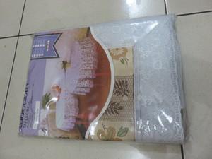 Taplak Meja Makan Plastik Bermotif Merk Meiwa Persegi 152 cm x 228 cm