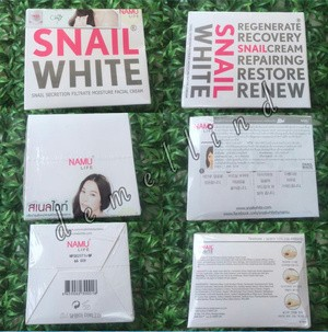 SNAIL WHITE Cream Pemutih Wajah