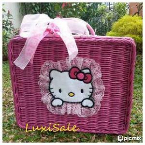 harga Koper rotan Hello Kitty Limited Edition Tokopedia.com