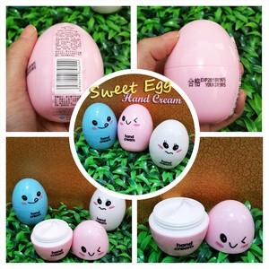 Sweet Egg HAND CREAM (melembutkan tangan kering dan bersisik)