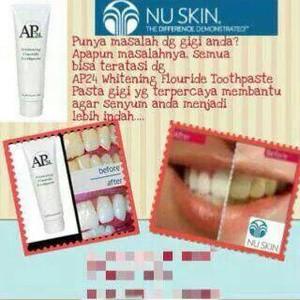 AP 24 Nu Skin (Pasta Gigi Nu Skin) Pemutih gigi