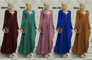 Jual Baju Maxidress Zoya Hijab