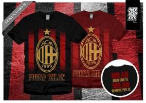 Kaos / tshirt klub bola AC Milan