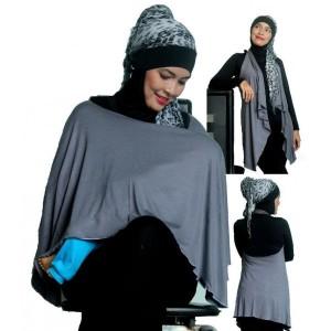 Nurshing Cover Warna Abu