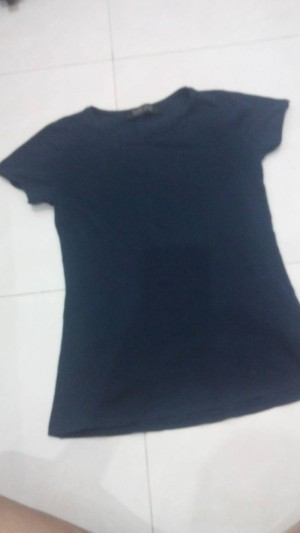kaos ketat stretch ZARA