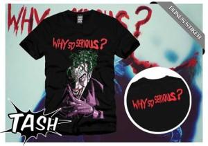 Kaos / tshirt Joker