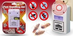 Riddex Pest Control As Seen on TV Alat Pengusir Tikus Hama Kecoa Rumah Tangga Barang Unik Household Reseller