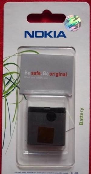 Baterei, Batere, Baterai Hp Nokia BL-6P Original 100%