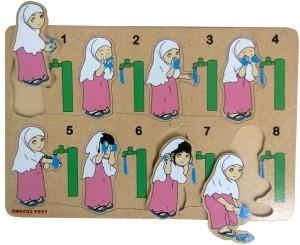 Gambar Kartun Wanita Wudhu Jual Puzzle Kayu Puzzle Urutan Wudhu Gambar Model Anak Perempuan Kota Surabaya Rumah Peri Kecil Tokopedia
