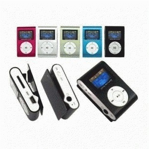 Mp3 Jepit With LCD