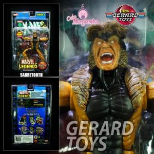 Sabretooth - Marvel Legends 5 - MOC