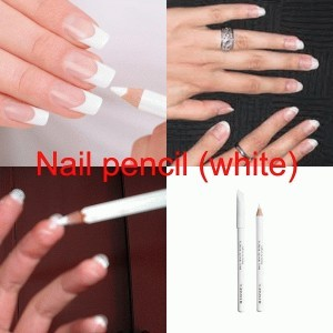 White Nail Pencil Best Designs 2018