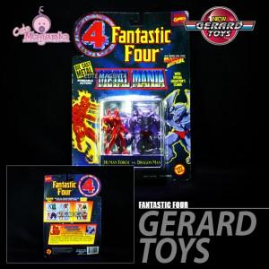 Fantastic Four - Metal Mania - Toybiz - MOC