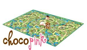 Imagination Playmat - zoo - alas main anak untuk mobil - mobilan, karakter, jalan dll