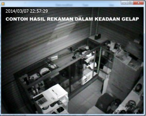 CCTV portabale with micro SD