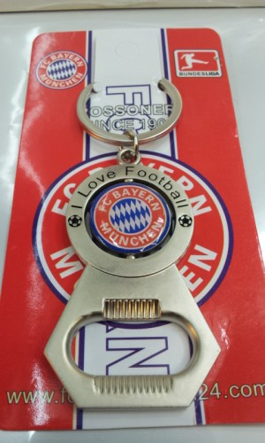 Gantungan Kunci Pembuka botol club bola Bayern Munchen ( import )
