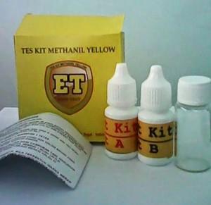 Test Kit Methanil Yellow Murah
