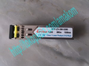 SFP-ZX-SM module, LC Interface, support CISCO / L2 Switch, Up To 80Km