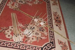 Busur Panah Longbow Khusus berburu dan Latihan memanah khas kalimantan selatan