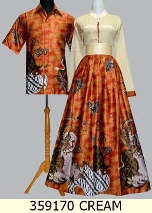 Model Baju Batik Solo Pasangan Modern Terbaru
