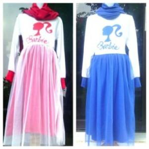 jual baju muslim anak barbie durenshop tokopedia
