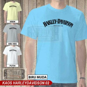 Kaos Harley Davidson 02