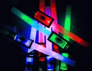 Glow stick glow torch 3 in 1 konser party pesta natal christmas senter ...