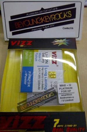 Baterai / Battery Double Power Vizz Andromax U