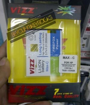 Baterai / Battery Double Power Vizz Andromax C