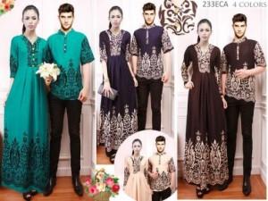 Jual Baju Pasangan Baju Muslim Kemeja Gamis Kode
