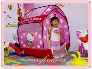 Tenda Hello Kitty Model Rumah ( Best Seller )