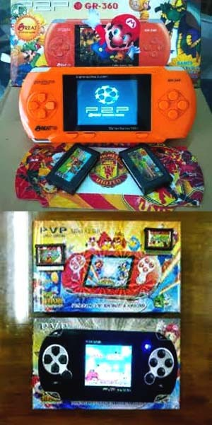 GAME BOY / GAMEBOY IBOX DIGITAL POCKET PORTABLE   GETAR STATION MUSIK ANAK - ANGRY BIRDS MARIO BROTHERS