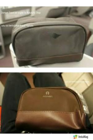jual dompet aigner travel kit dari garuda indonesia