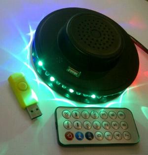 MP3 DISCO LED TORNADO