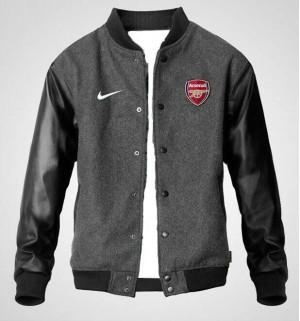 Jaket Varsity Arsenal Abu Misty