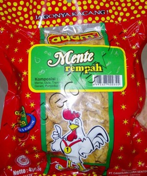 Kacang Mente Rempah 450gr