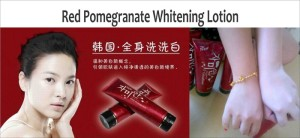 red pome korea whitening lotion instan