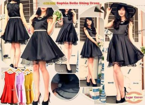 Shopia Belle Shiny Dress