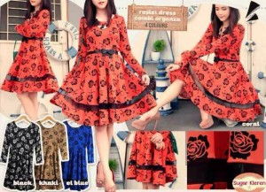 Rosie Combi Organze Dress