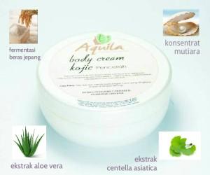 body cream kojic +++