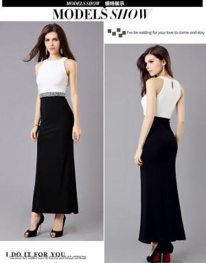 Dress Cotton Silk import (white)
