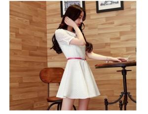 Dress inner silk plus Belt