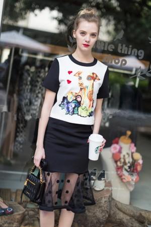 shirt+rok cotton