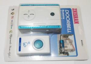 bel pintu wireless door ringing tanpa kabel listrik pakai power batery sudah termasuk included households alat rumah tangga unik