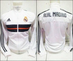 Jajet Real Madrid Putih Official 2013/2014