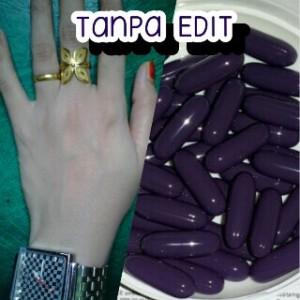 kapsul pemutih ungu isi 10