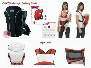 Chicco marsupio Go Baby Carier -Gendongan bayi