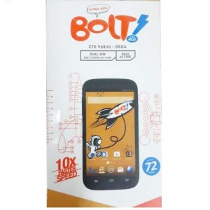 BOLT! 4G Power Phone - ZTE V9820 - White