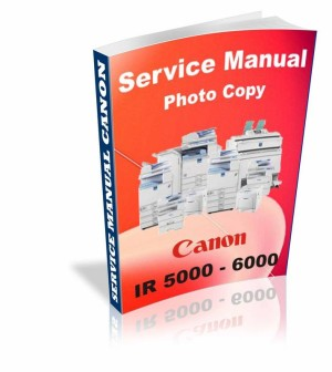 Buku service manual fotocopy